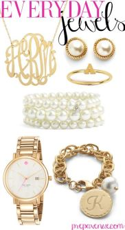 Classic and pretty jewellery.