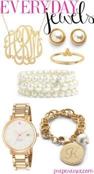 Classic and pretty jewellery.