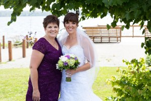 My Mom & I on my wedding day.  She was there for me every step of the way.