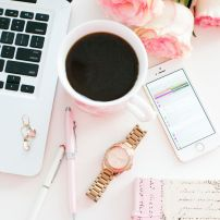 Pretty blog inspiration.