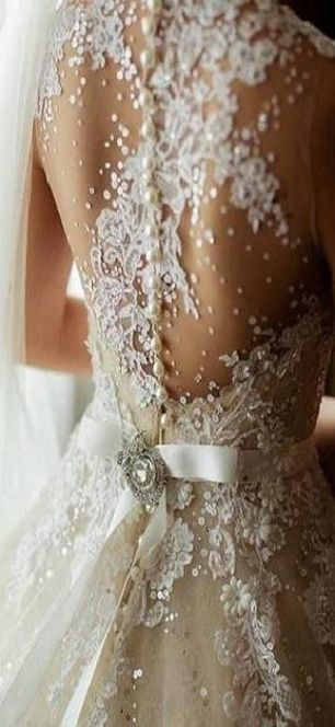 Love the lace and detail!