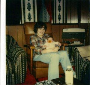 Mama and me - circa 1981