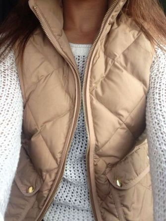 I'm loving vests lately, especially paired off a light, spring sweater.