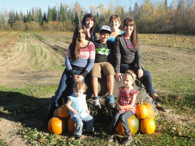 Fun day at the Pumpkin Patch with the girls and the grandkids.