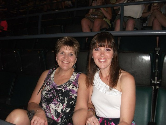 Mom was such a trooper when she came with me to see the Backstreet Boys & New Kids!